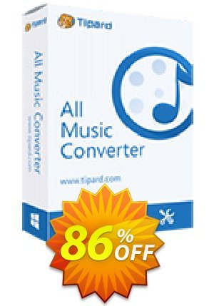 Tipard All Music Converter Lifetime License Coupon BOX