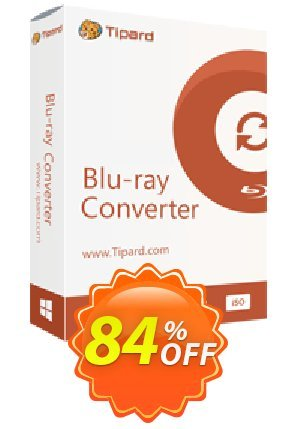 Tipard Blu-ray to iPad Ripper Coupon BOX