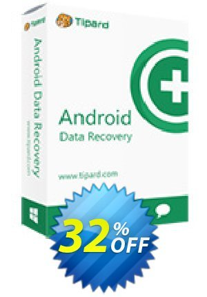 Tipard Broken Android Data Extraction Coupon BOX
