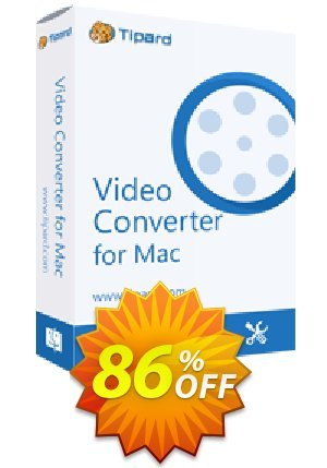 Tipard iPod Video Converter for Mac Coupon BOX