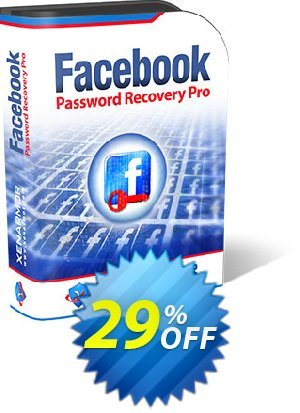 Get 84% OFF XenArmor Facebook Password Recovery Pro Personal Edition Coupon