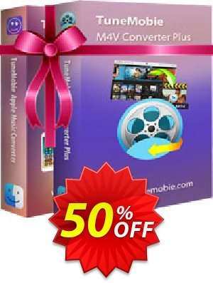 TuneMobie iTunes Converter Toolkit for Mac (Family License) Coupon BOX
