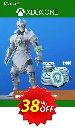 Fortnite: Legendary Rogue Spider Knight Outfit + 2000 V-Bucks Bundle Xbox One Coupon BOX