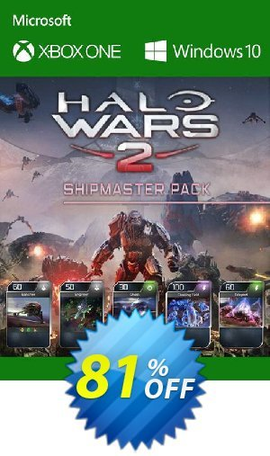 Halo Wars 2 Shipmaster Pack DLC Xbox One / PC Coupon BOX