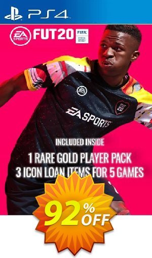 60% OFF FIFA 20 - 1 Rare Players Pack + 3 Loan ICON Pack PS4, EU Coupon Code,  Aug 2020 - VotedCoupon