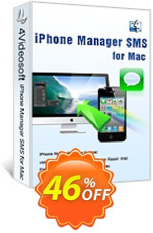 4Videosoft iPhone Manager SMS for Mac Coupon BOX