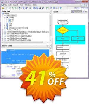 AthTek Code to FlowChart Converter Coupon BOX