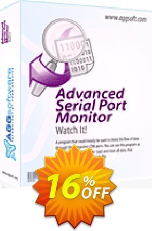 Aggsoft Advanced Serial Port Monitor Coupon BOX