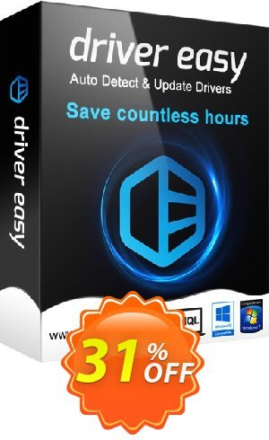 Driver Easy - 30 Computers License / 1 Year Coupon BOX