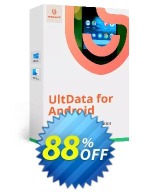 Tenorshare UltData for Android - (11-15 Devices) Coupon BOX
