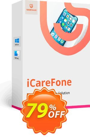 Tenorshare iCareFone for Mac - 1 Month Coupon BOX