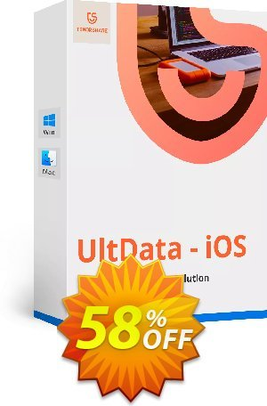 Tenorshare Ultdata for iOS (Win) - 1 Year/Unlimited Devices Coupon BOX
