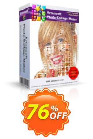 Artensoft Photo Collage Maker - Business License Coupon BOX