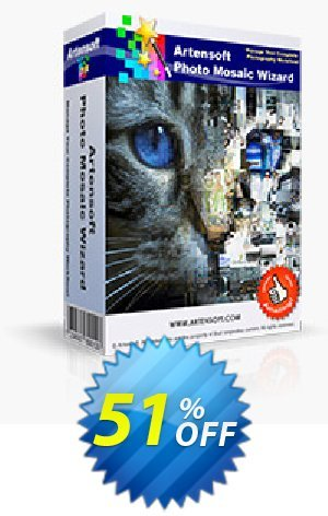 Artensoft Photo Mosaic Wizard Coupon BOX