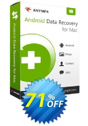 AnyMP4 Android Data Recovery for Mac Lifetime Coupon BOX
