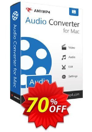 AnyMP4 Audio Converter for Mac Coupon BOX