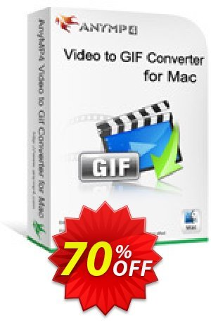 AnyMP4 Video to GIF Converter for Mac Lifetime Coupon BOX