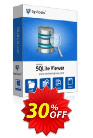 SysTools SQLite Viewer Pro Coupon BOX