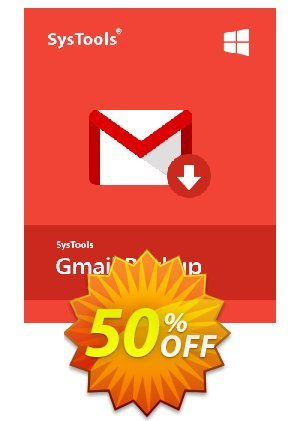 GMail Backup - 51 to 100 Users License Coupon BOX