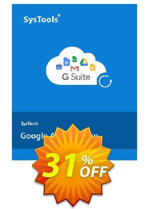 Google Apps Backup - 5 to 10 Users License Coupon BOX