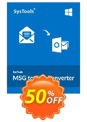 MSG to PST Converter - Business License Coupon BOX