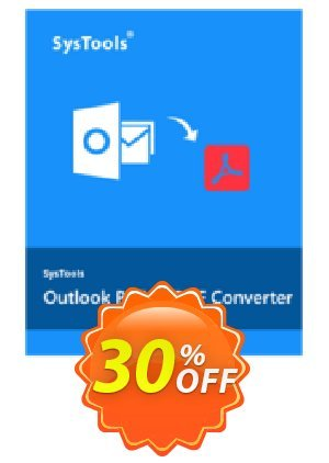SysTools Outlook PST to PDF Converter Coupon BOX