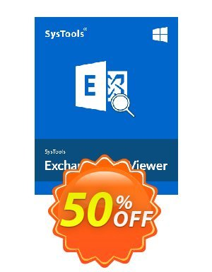 SysTools Exchange EDB Viewer - 50 Users Coupon BOX