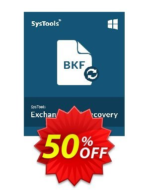 SysTools Exchange BKF Recovery Coupon BOX