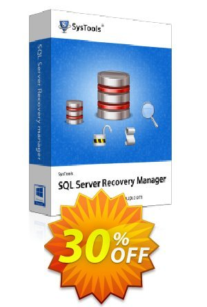 SysTools SQL Server Recovery Manager - Admin License Coupon BOX
