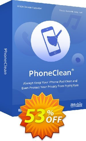PhoneClean Pro for Mac - family license Coupon BOX