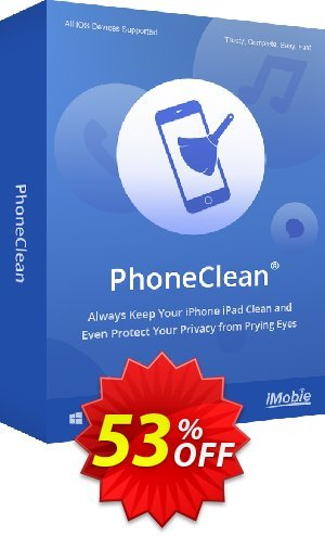 PhoneClean Pro for Windows - family license Coupon BOX