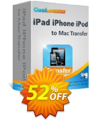 Coolmuster iPad iPhone iPod to Mac Transfer Coupon BOX