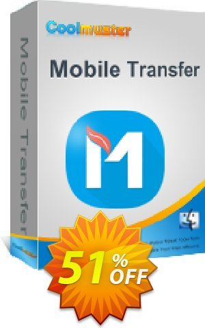 Coolmuster Mobile Transfer for Mac - 1 Year (6-10PCs) Coupon BOX
