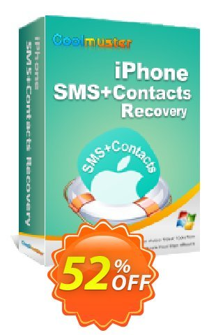 Coolmuster iPhone SMS+Contacts Recovery Coupon BOX