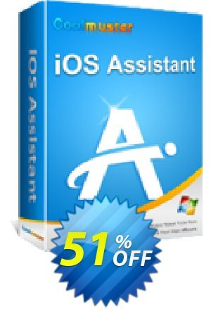 Coolmuster iOS Assistant - 1 Year License(11-15PCs) Coupon BOX