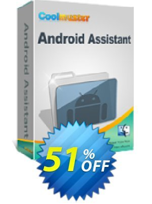 Coolmuster Android Assistant for Mac - 1 Year License(6-10PCs) Coupon BOX