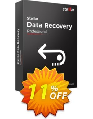 20% OFF Stellar Data Recovery Professional Coupon code on Fourth of July  promotions, July 2019