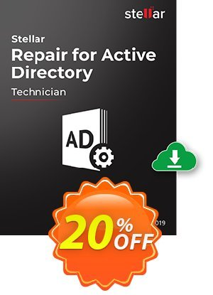 Stellar Repair for Active Directory Coupon BOX
