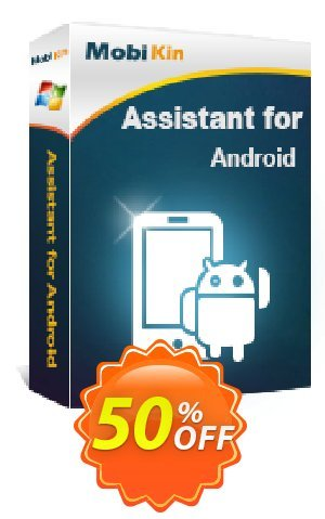 MobiKin Assistant for Android - Lifetime, 6-10PCs License Coupon BOX