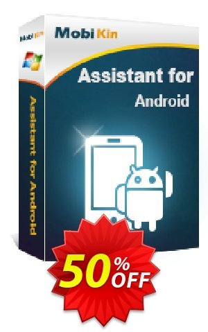 MobiKin Assistant for Android - 1 Year, 16-20PCs License Coupon BOX