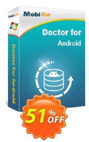 MobiKin Doctor for Android - Lifetime, 3 Devices, 1 PC License Coupon BOX