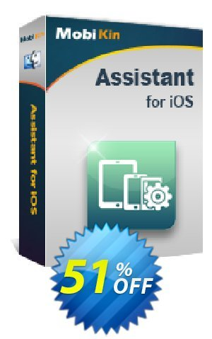 MobiKin Assistant for iOS (Mac) - 1 Year, 2-5 PCs License Coupon BOX