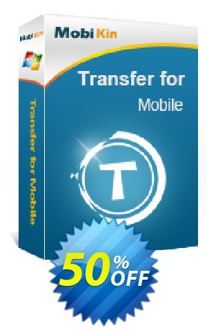 MobiKin Transfer for Mobile - 1 Year, 26-30PCs License Coupon BOX