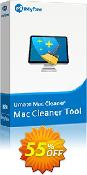 iMyFone Umate Mac Cleaner Family (Lifetime) Coupon BOX