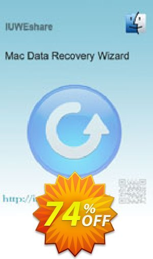 IUWEshare Mac Data Recovery Wizard Coupon BOX