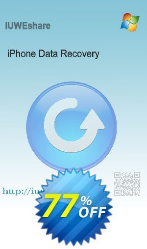 IUWEshare iPhone Data Recovery Coupon BOX