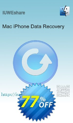 IUWEshare Mac iPhone Data Recovery Coupon BOX
