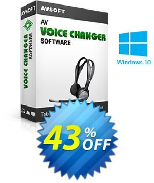 AV Voice Changer Software Coupon BOX