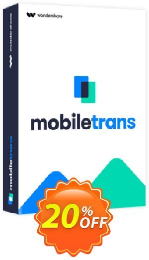 Wondershare MobileTrans for Mac - Business License Coupon BOX