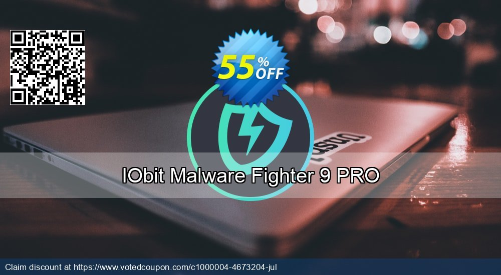 Get 59% OFF IObit Malware Fighter 7 PRO discount